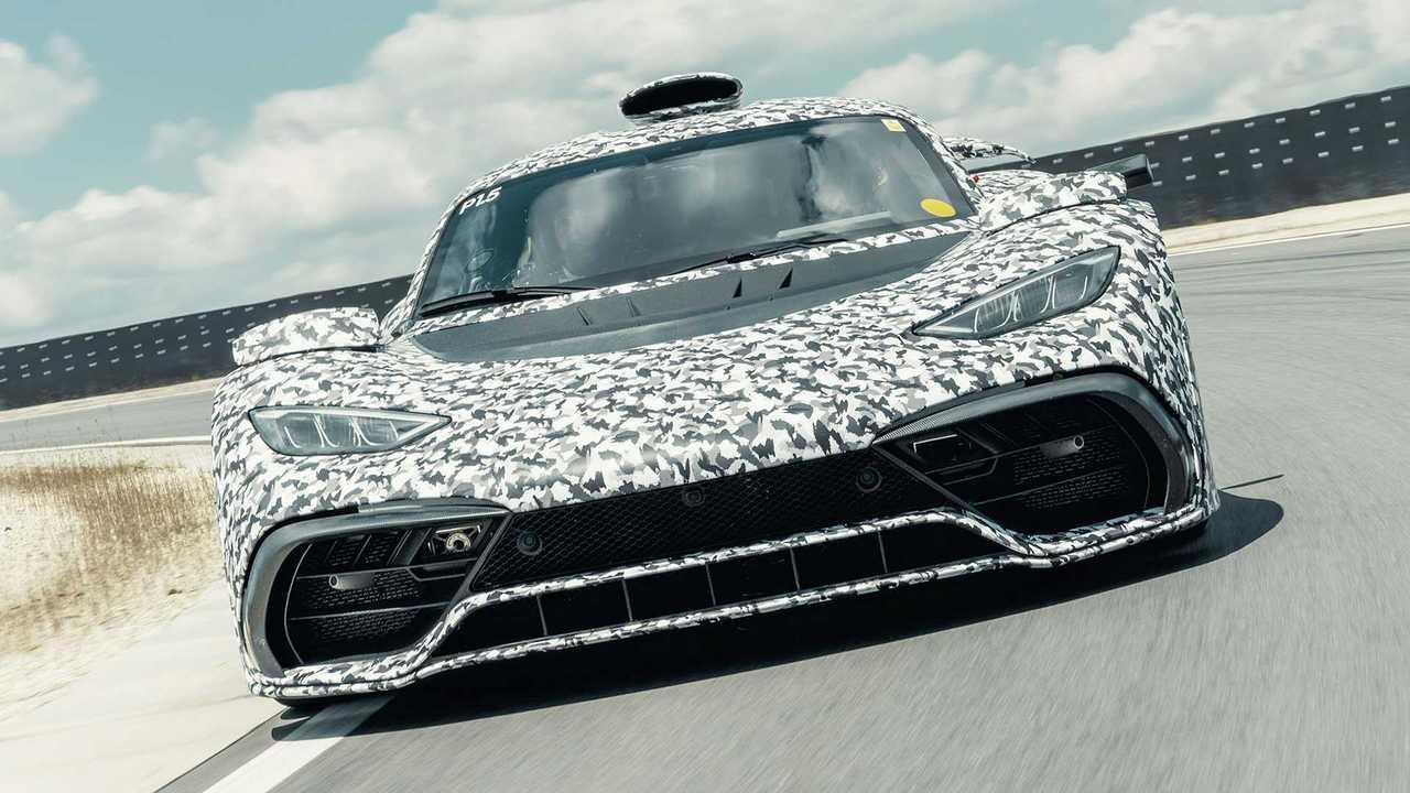 Mercedes-AMG One (offizieller Erlkönig)
