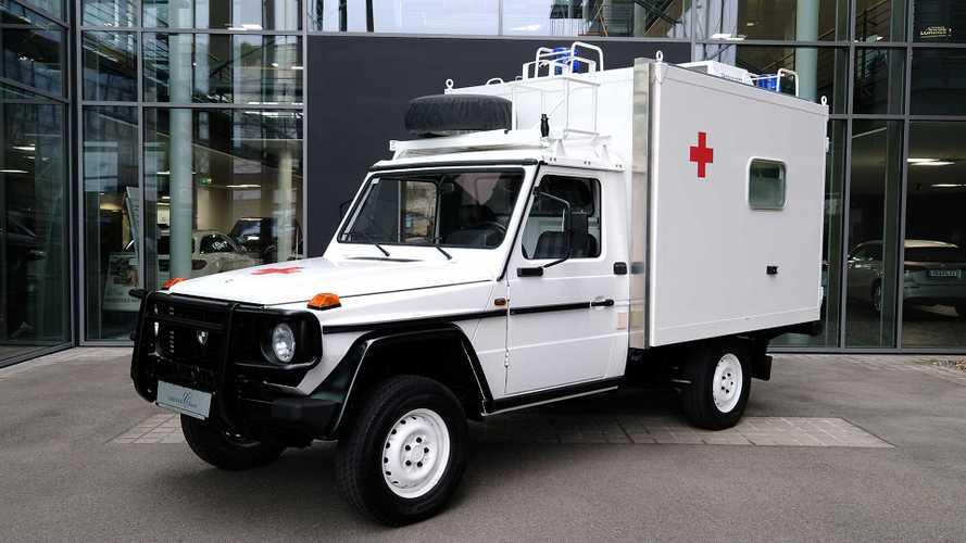 Lorinser Puch G, la ambulancia para rescates complicados