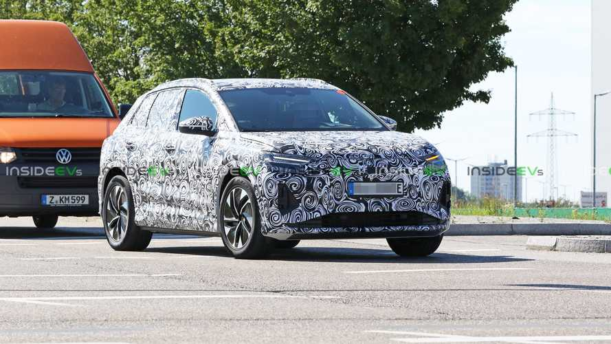 Audi Q4 e-tron, The Audi Version Of the VW ID.4, Spotted Testing