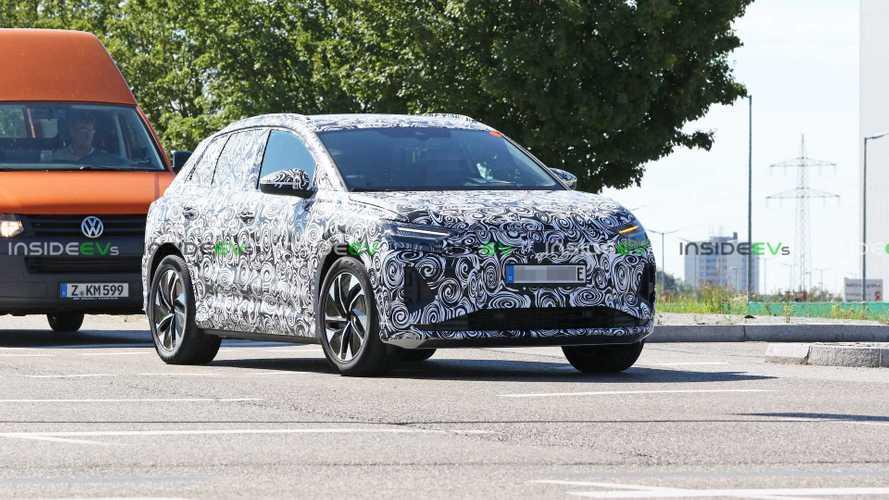 Audi Q4 e-tron spy photos