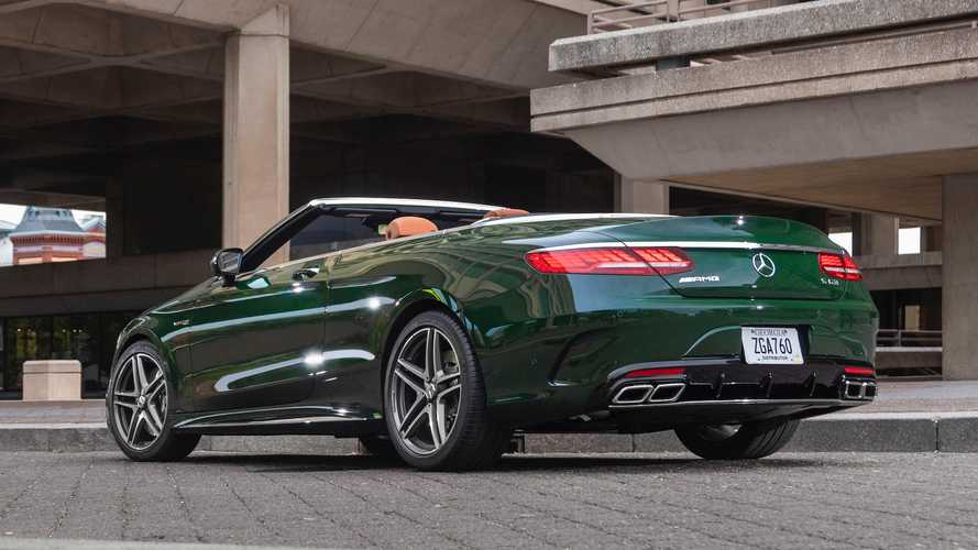 Mercedes-Benz S63 Cabriolet Designo Manufaktur Deep Green