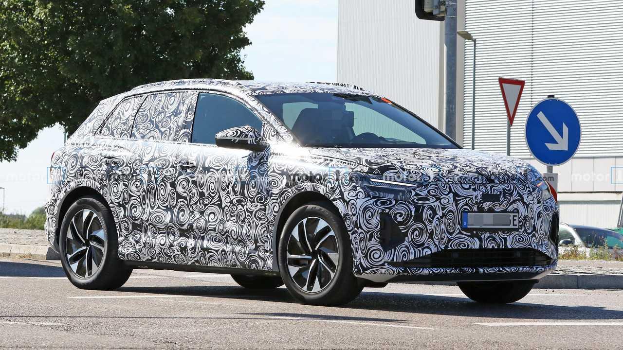 Photo espion Audi Q4 e-tron