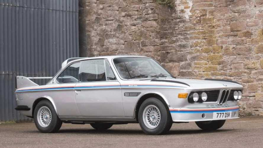 Classics for sale: BMW 3.0 CSL 'Batmobile'