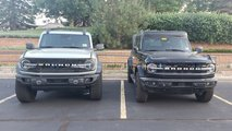 Ford Bronco Model Comparisons