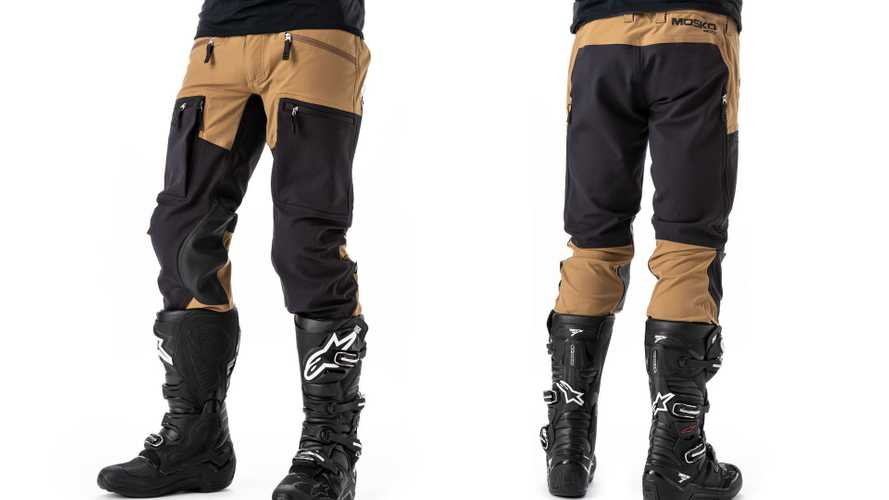 New Mosko Moto Woodsman Enduro Riding Pants Are Waterproof Where It Matters