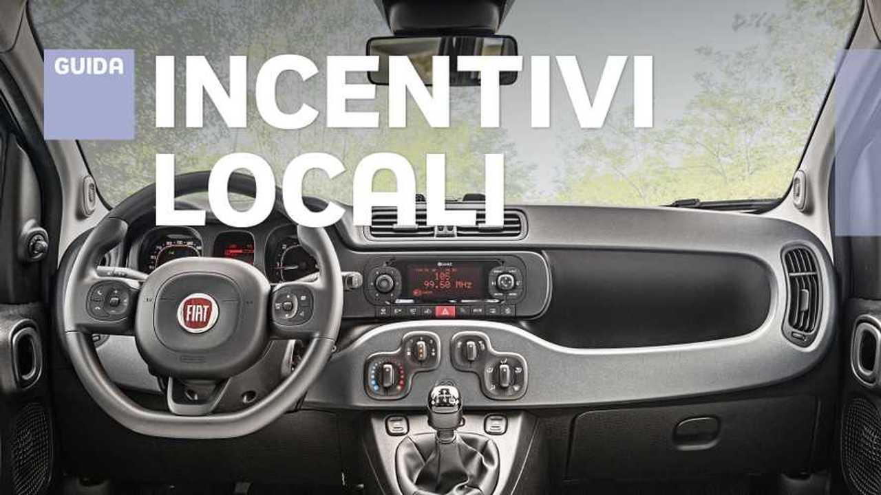Incentivi auto locali