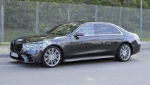 2021 Mercedes S-Class new spy photos