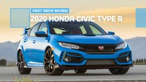 2020 honda civic type r hatchback first drive