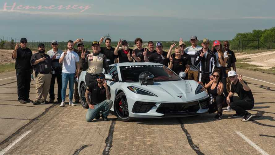 Hennessey goes behind the scenes of its 205-mph top speed run