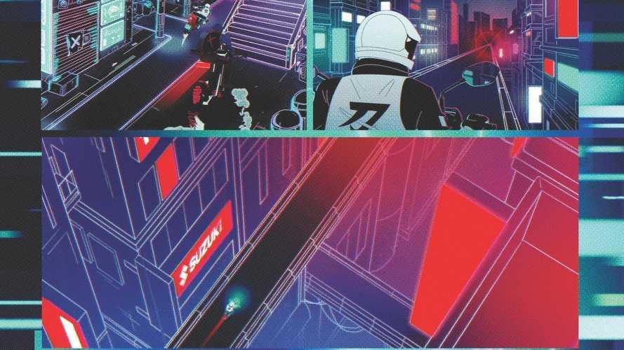 Suzuki Katana, il corto di Iron & Air