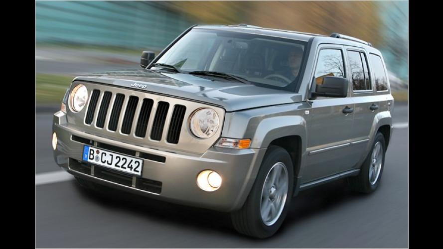 Sondermodell Jeep Patriot Eco+ mit Autogasanlage plus Navi
