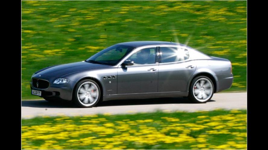 Mit noch mehr Zack: Maserati Quattroporte Sport GT