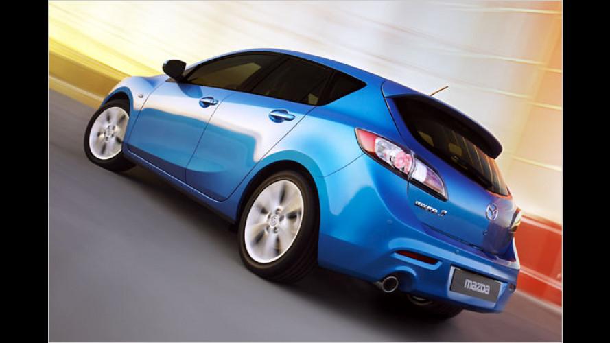 Mazda zeigt die Fließheckversion des neuen Mazda 3