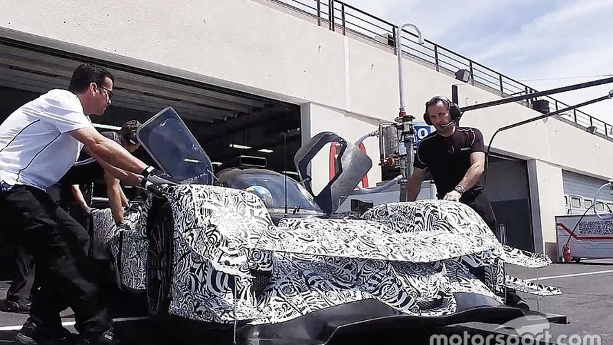 Acura ARX-05 Europe Test