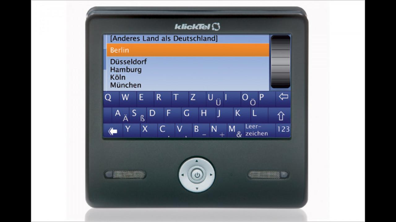 KlickTel Navigator