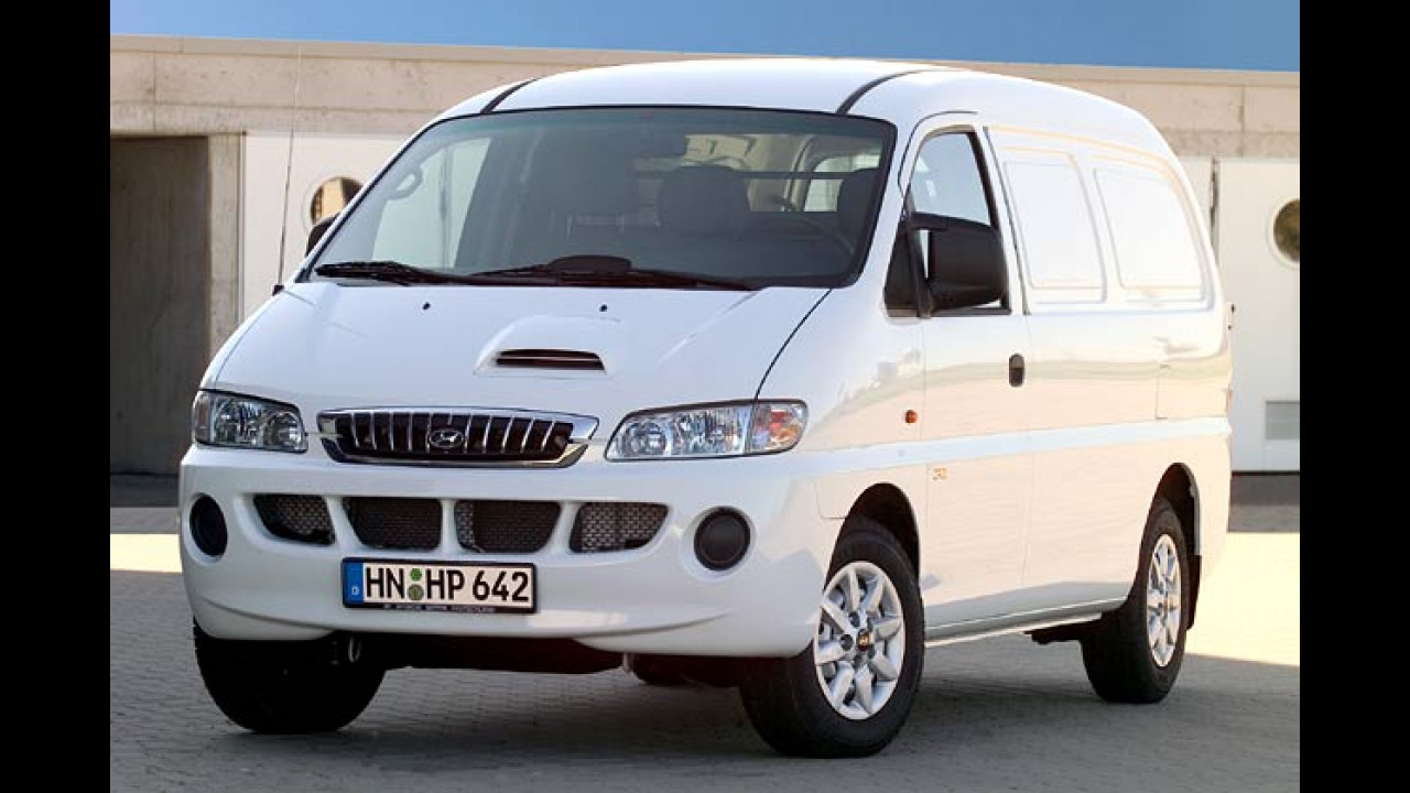 Hyundai H-1: Facelift für 2005