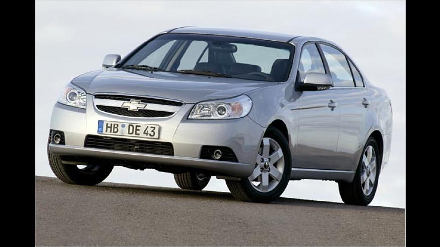 Chevrolet Epica: Evanda-Nachfolger kommt nach Genf