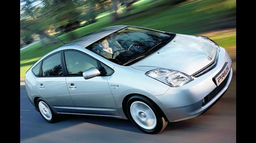 Toyota Prius wird mit neuartiger Batterie deutlich sparsamer
