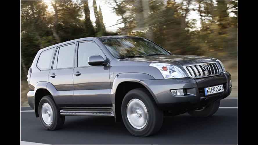 Toyota: Land Cruiser mit neuen Ausstattungsnamen