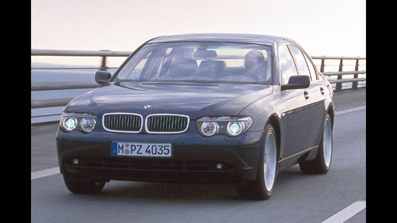 BMW 745d DPF