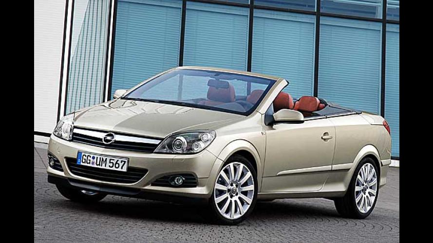 Opel Astra TwinTop: Opel-Air dank variablem Blechdach