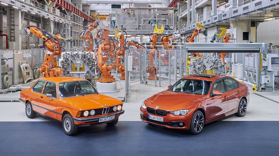 BMW 3 Series Edition Production Starts With E21 Photo Shoot