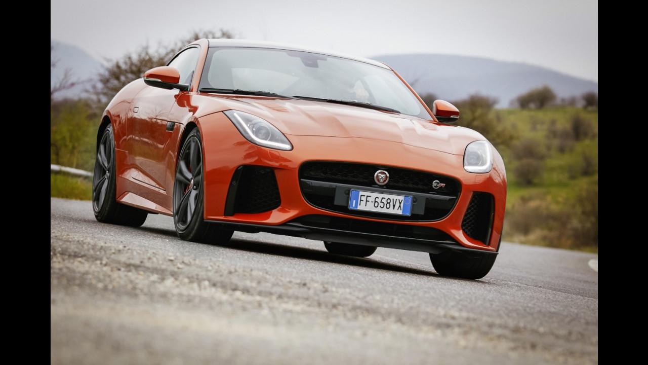 Jaguar F-Type SVR, la nostra prova su strada
