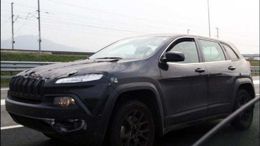 Nuova Jeep Cherokee, foto esclusive della versione europea