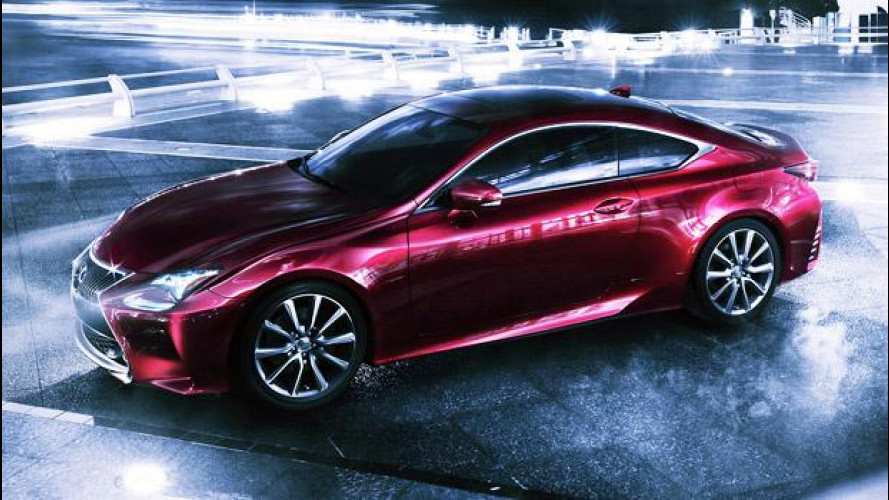 Lexus RC, la coupé sportiva della IS