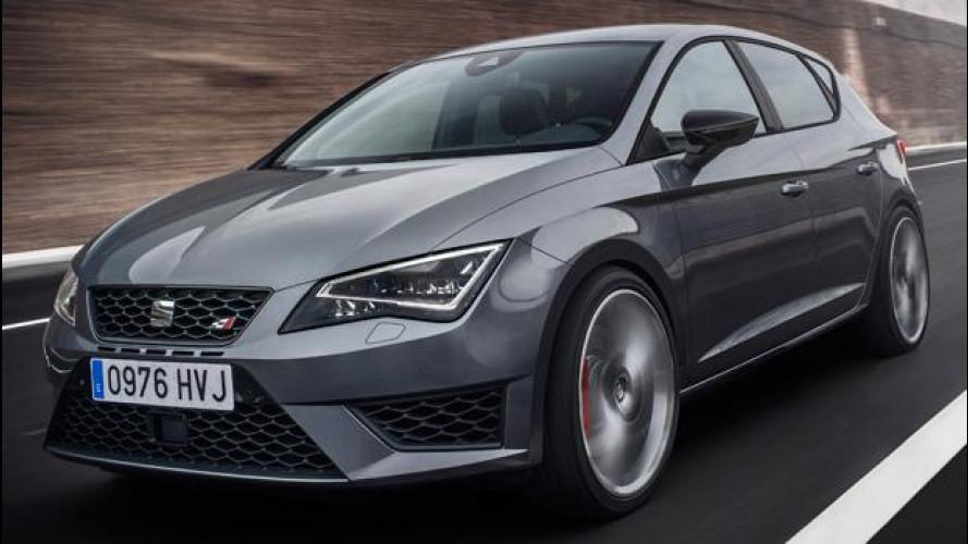 Seat Leon Cupra, più potente della Golf GTI