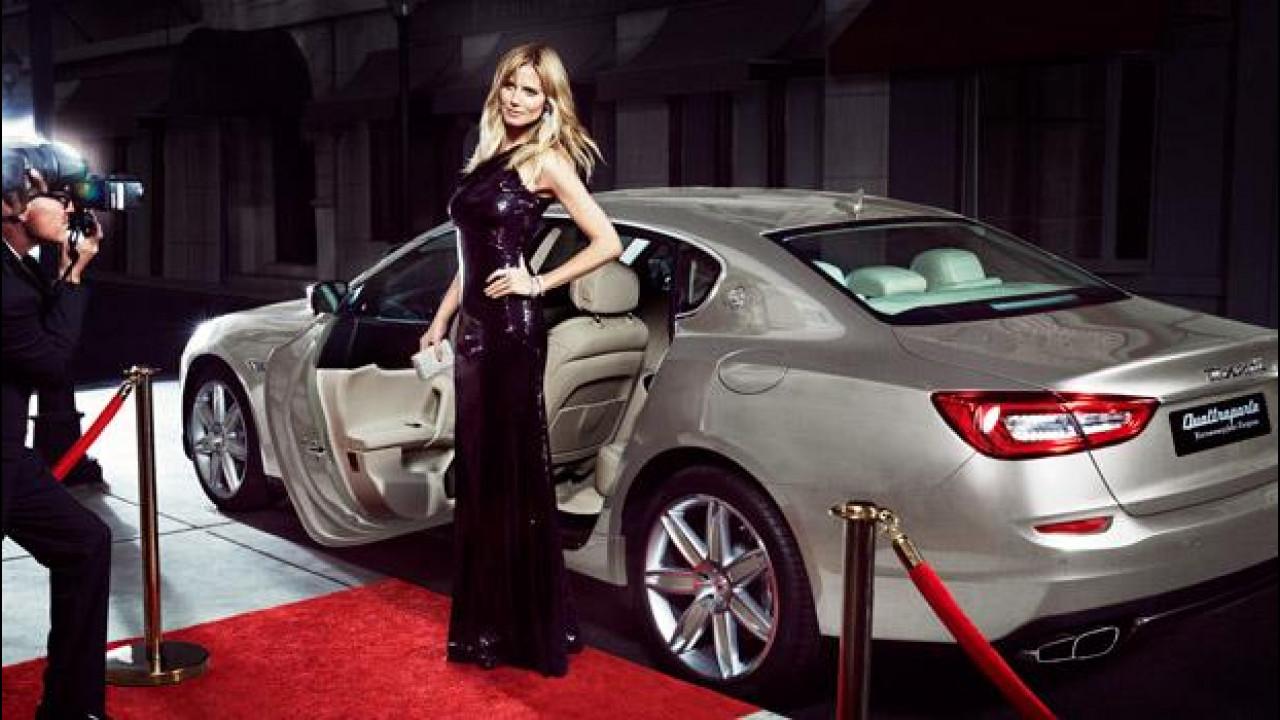 [Copertina] - Maserati e Heidi Klum, bellezze a confronto