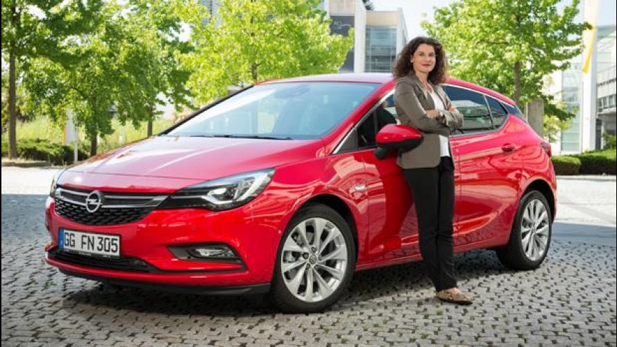 """Opel Astra, la svolta """"femminile"""" arriva dal mondo della cosmesi"""