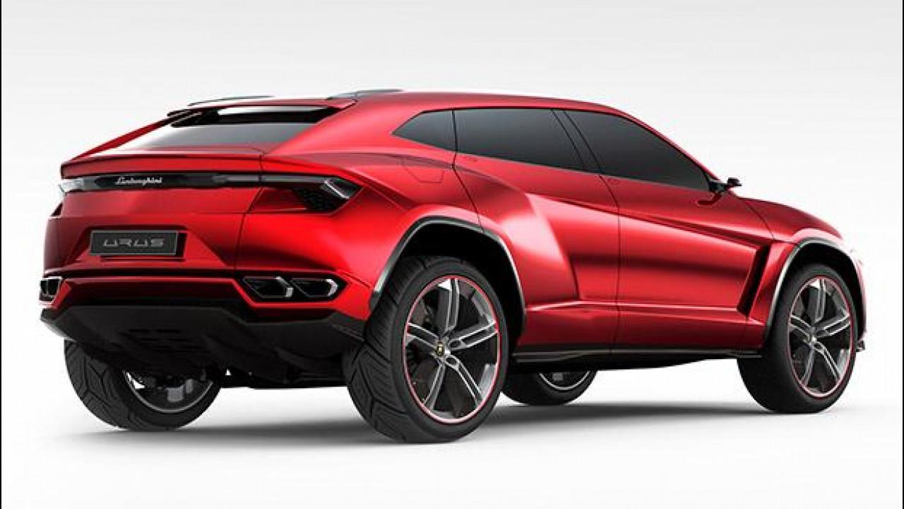 [Copertina] - Lamborghini, il SUV avrà un V8 biturbo