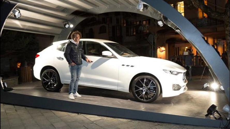 Maserati Levante, debutto italiano tra le Alpi