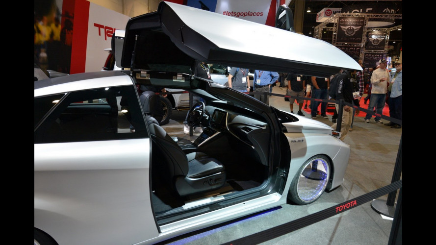 """Toyota TRD al SEMA, quando il tuning è """"popolare"""""""