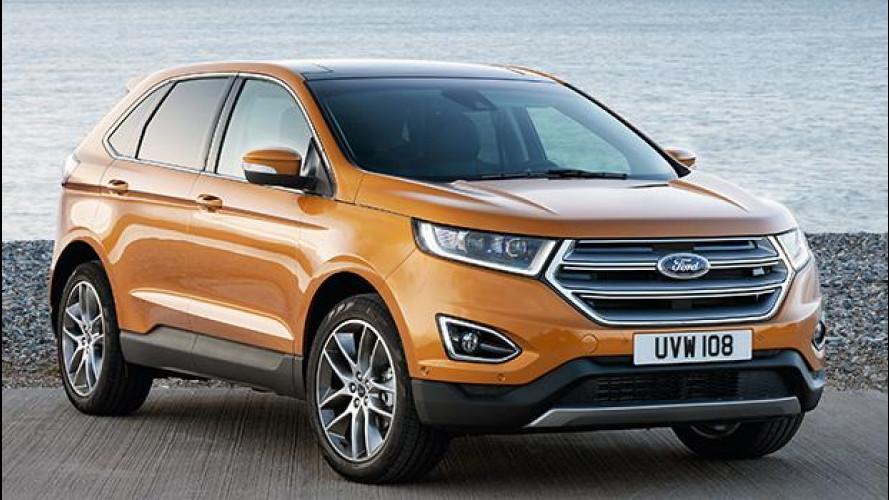 Ford Edge: prezzi da SUV media, dimensioni da grande