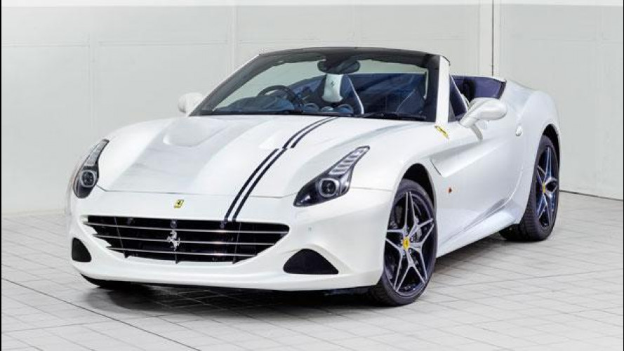 Ferrari California T, specialissima a Goodwood