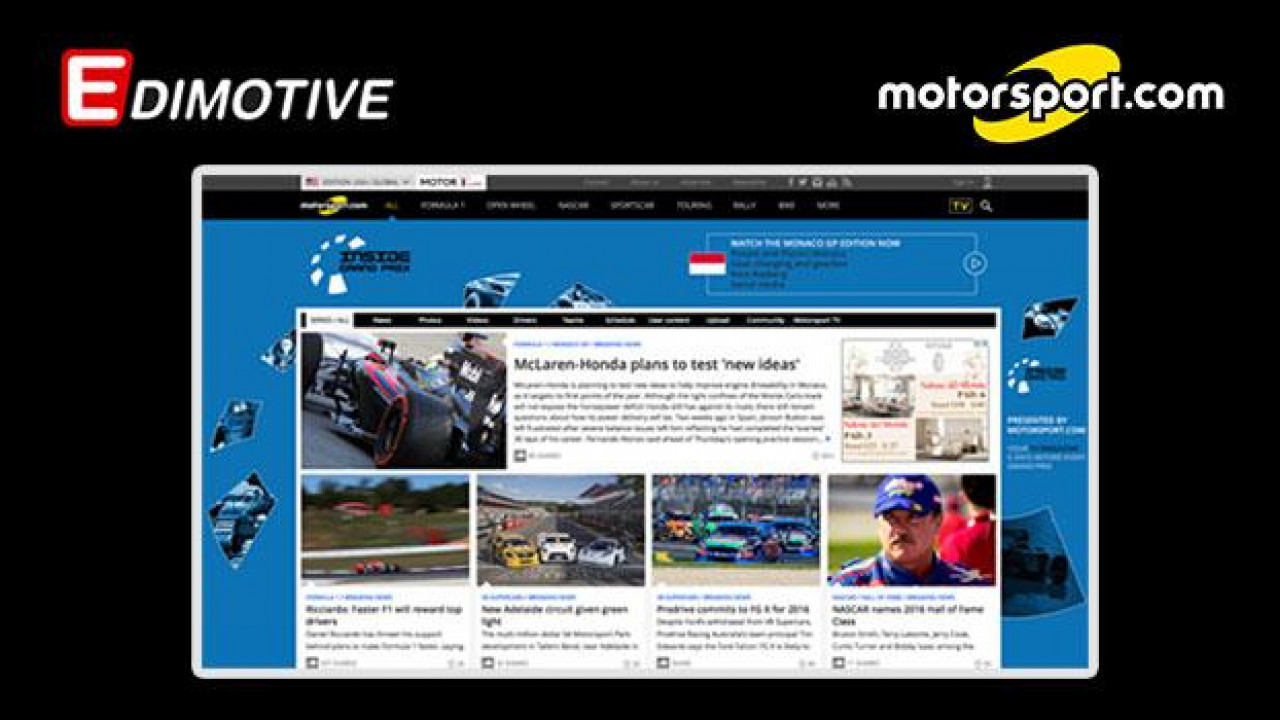 [Copertina] - OmniAuto.it entra in Motorsport LLC, il 1° network globale di informazione automotive