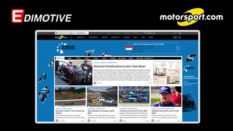 OmniAuto.it entra in Motorsport LLC, il 1° network globale di informazione automotive