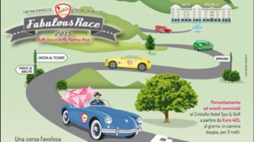 """Cortina Fabolous Race, un """"gioco"""" per auto da sogno"""