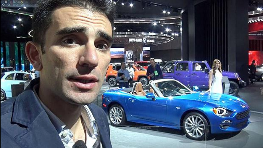 Fiat 124 Spider, un'italiana in America [VIDEO]