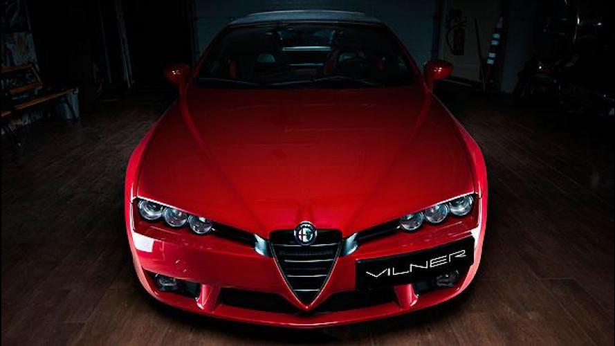 Alfa Romeo Spider, nuova vita con il tuning di Vilner