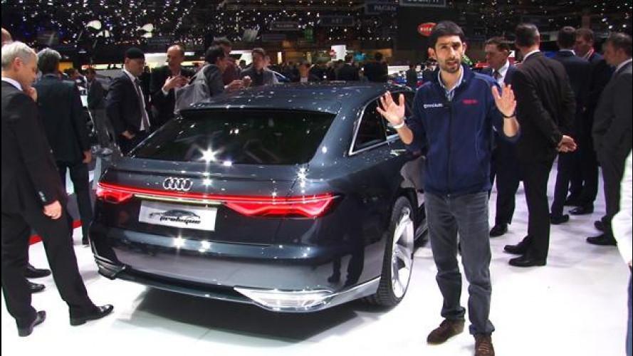 Salone di Ginevra, Audi prologue anticipa le A6 e A8