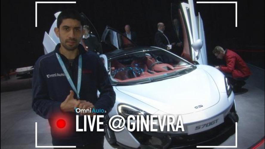 Ginevra 2016, McLaren 570 GT: la Gran Turismo di Woking [VIDEO]