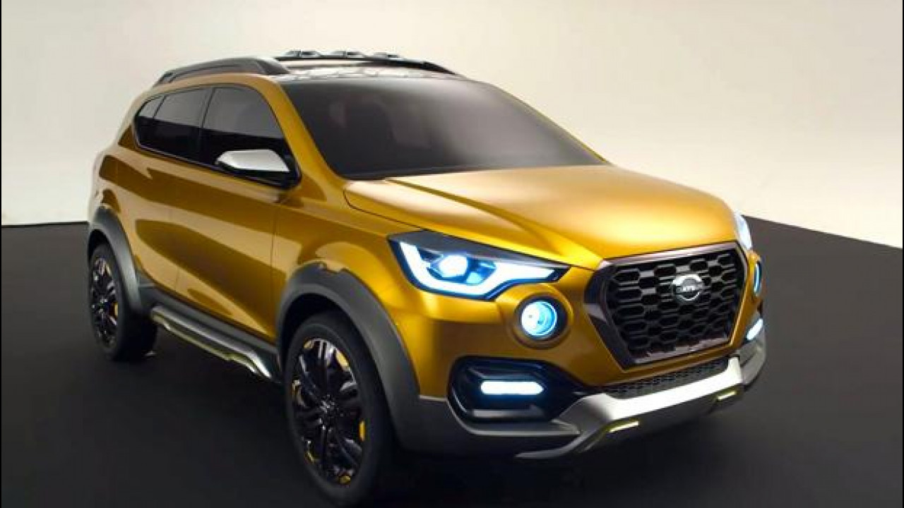 [Copertina] - Datsun GO-cross, il SUV compatto presentato in India
