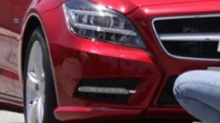 2012 Mercedes CLS spied completely uncovered