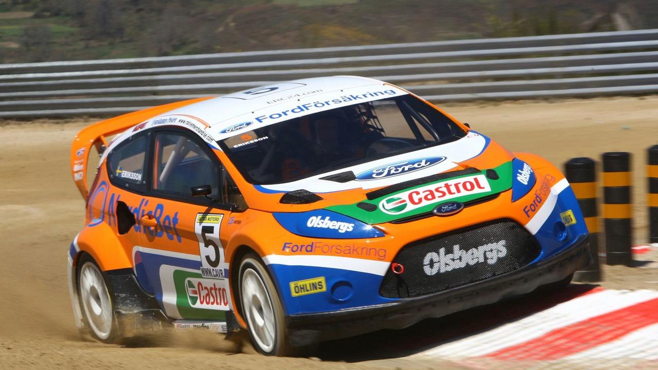 New Ford Fiesta Rallycross Car