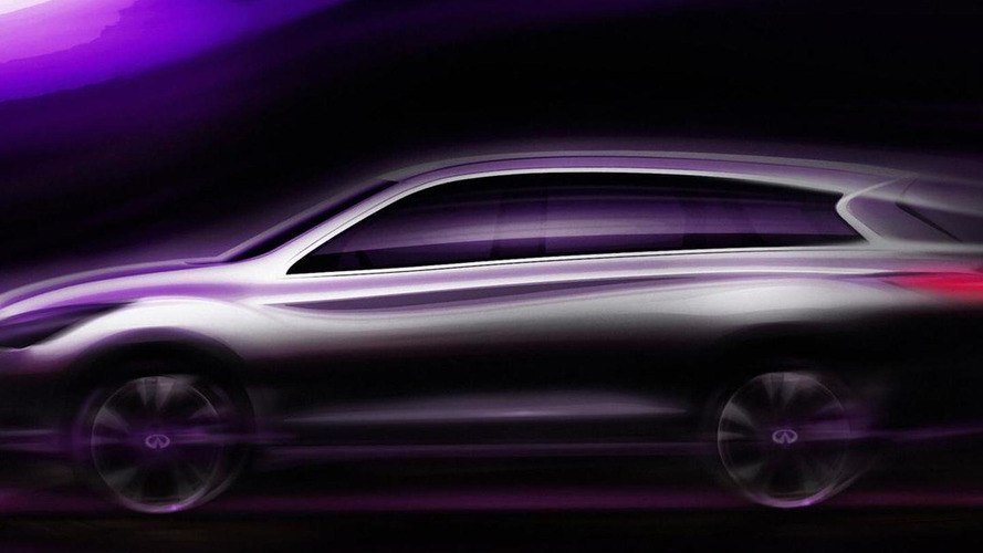 Infiniti JX announced for LA Auto Show debut