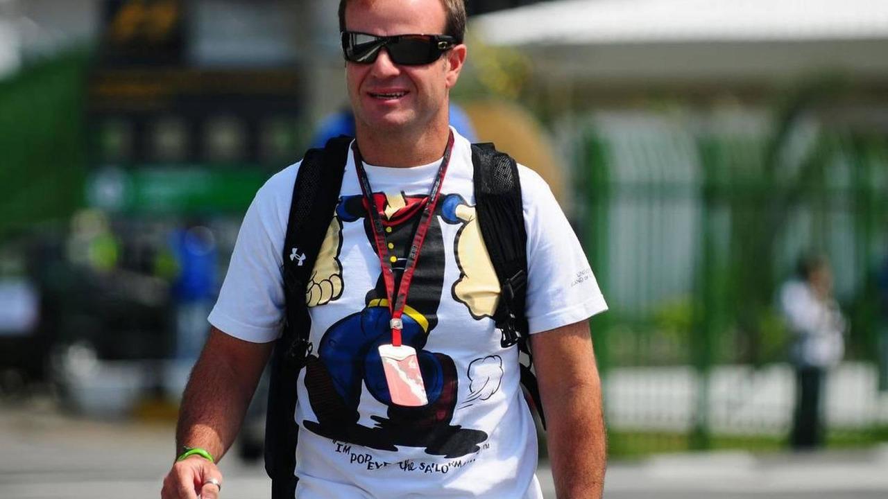 Rubens Barrichello (BRA), Williams F1 Team - Formula 1 World Championship, Rd 18, Brazilian Grand Prix, 04.11.2010 Sao Paulo, Brazil