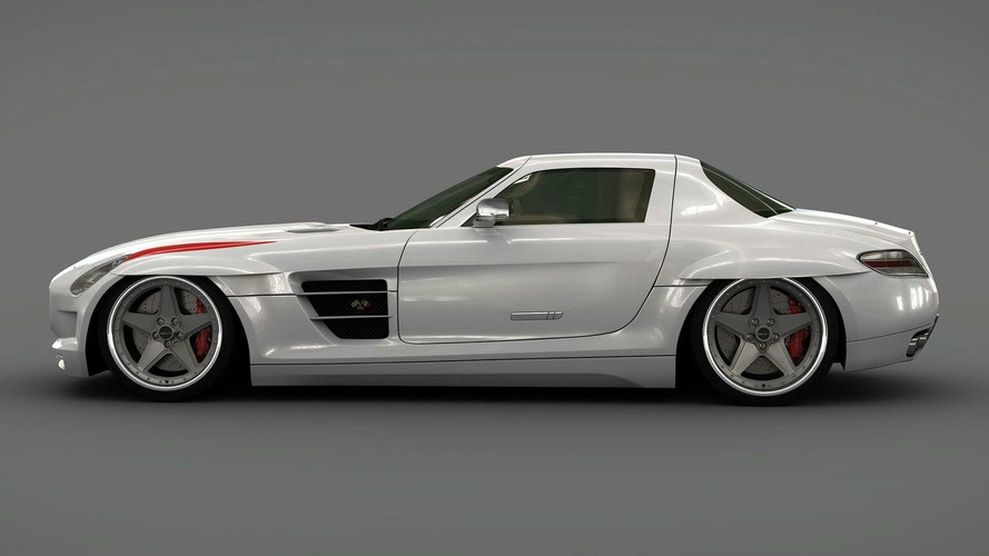 2010 Mercedes SLS Panamericana Body Package by Gullwing America Announced